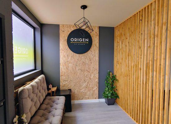 Recepción Origen Fit Studio
